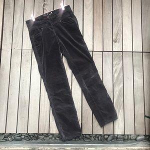 TOM TAILOR Grey Faux Suede Alexa Slim Skinny Pants